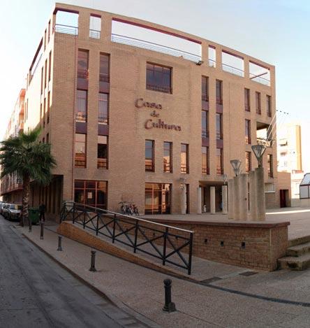 Façana principal Casa Cultura Puçol