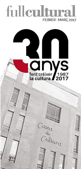 Fullet informatiu activitats culturals Febrer-Març