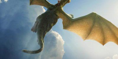 Cartel pel·licula Peter y el dragón