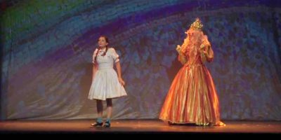 Momento de El Mago de Oz, el musical
