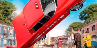 Cartell pel·licula Benito Sansón y los taxis rojos