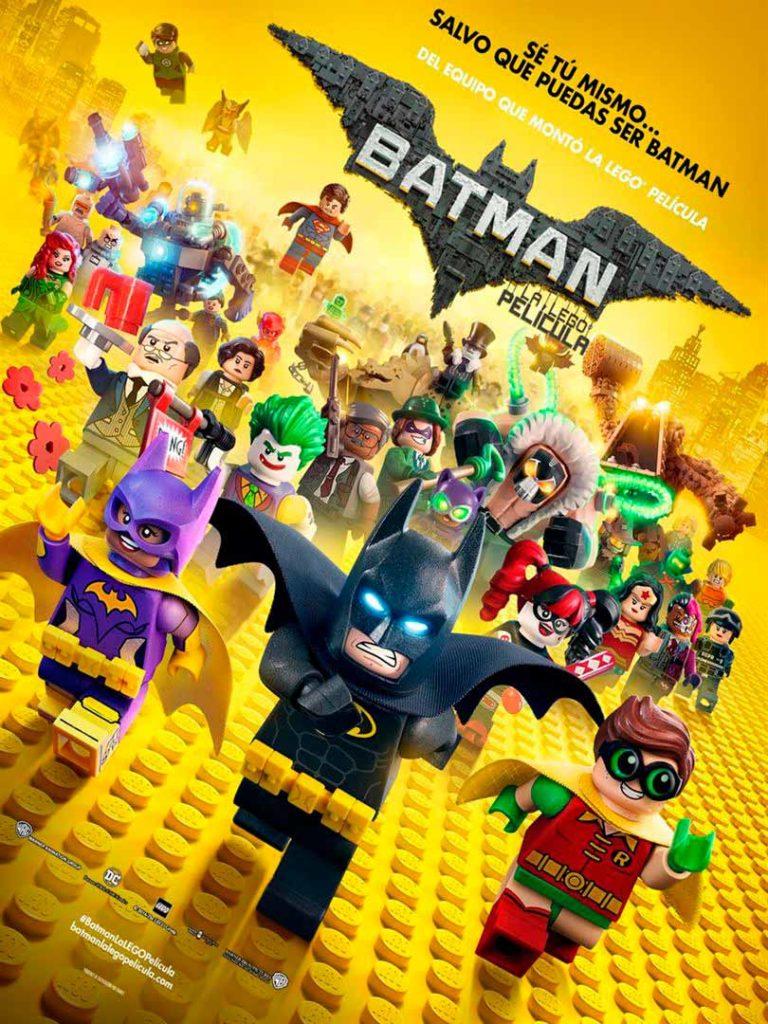 Cartell pel·licula Batman LEGO