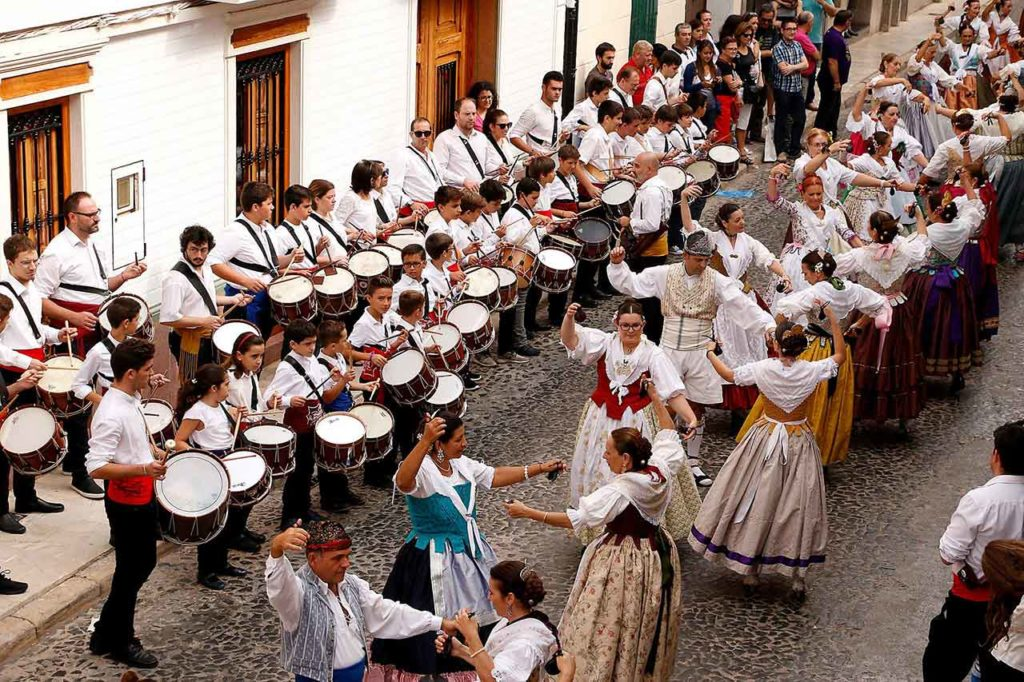 Pasacarrer conmemoratiu 30 aniversari Casa Cultura Puçol