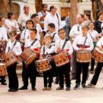 Membres de l'Escola de Tabal i dolcaina Puçol