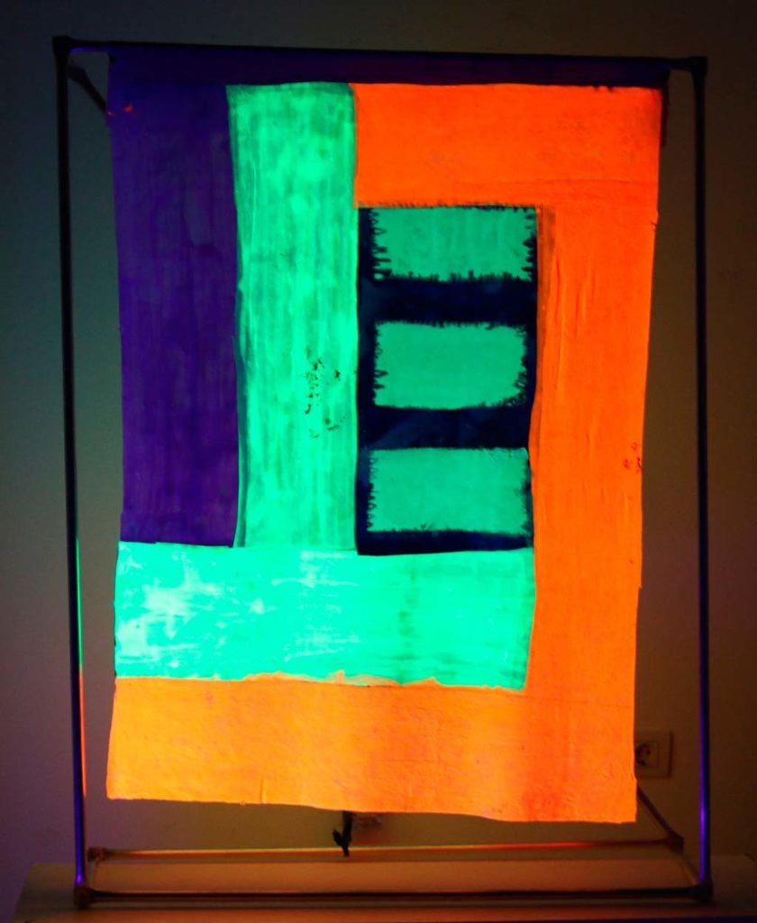 Quadre de l'exposició d'Inma Mendieta