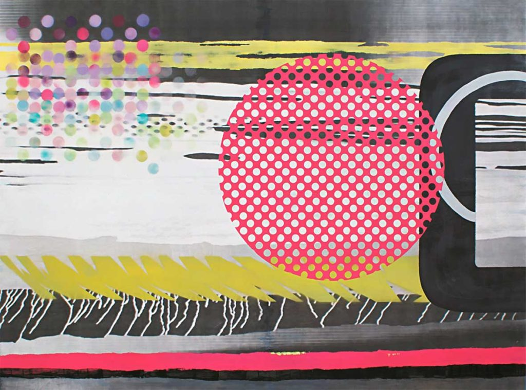 Obra en l'exposició de Benlla Martínez