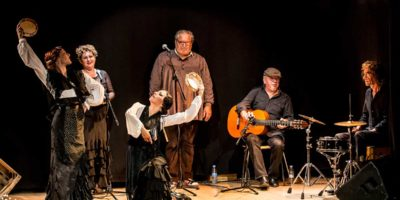 Representació Què flamenca sóc de Taconterra dansa